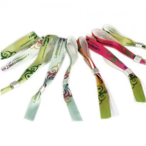 Sublimated promotional wristband
